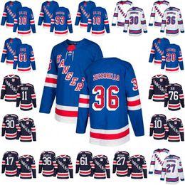 2018 New York Rangers 36 Mats Zuccarello 30 Henrik Lundqvist Jersey 17  Jesper Fast Kreider Mika Zibanejad Rick Nash Ryan McDonagh Jerseys 44b3af1c4