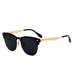 Chinese  WHO CUTIE 2018 One Piece Square Sunglasses Club Master Traveller Style Men Women Vintage Fashion Hot Ray Sun Glasses Shades 465 manufacturers