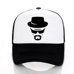 2a86d019 heisenberg Baseball caps funny men hat Summer leisure snapback hats women  fashion Mesh trucker cap