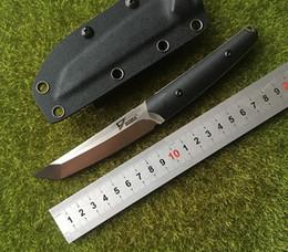 Venta al por mayor de DICORIA Slay VG-10 blade G10 mango cuchillo de caza táctico de hoja fija KYDEX Vaina para acampar supervivencia al aire libre EDC cuchillos herramientas