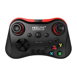 tablet game stick 2019 - MOCUTE 056 Wireless Bluetooth Gamepad Phone Tablet Video Games Controller Joy Stick for Android for iOS for PC drop ship