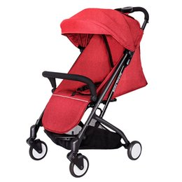 Baby Gift Delivery UK - European Baby Strollers Super Light Easy Fold Travel Baby Carriage Stroller Send 12 Free Gifts Fast Delivery 5.8kg