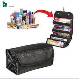 Discount cotton pouches wholesale - Necessaire Women Make Up Makeup Organizer Cosmetic Bag Box Vanity Case Beautician Neceser Toiletry Travel Necesser Purse