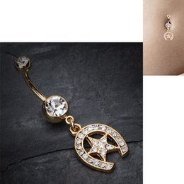 $enCountryForm.capitalKeyWord Canada - Belly Piercing Leaves Gold Navel Piercing Cute Belly Button Rings Piercing Navel Surgical Steel Women Fashion Christmas Gifts