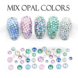 Mix Sizes Opal colors SS4-SS12 400Pcs Lot  e441a4ca1f02