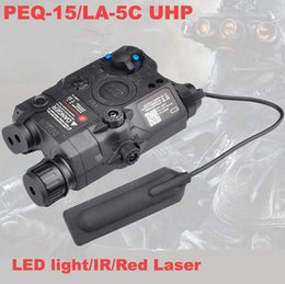 Elements Battery NZ - Airsoft Laser for Shooting Games Element LA-5 Battery Case with Red Laser LED Flashlight EX396