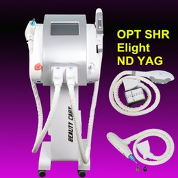 Ipl e lIght tattoo removal online shopping - ND YAG Laser tattoo removal machine Q switched nd yag laser shr ipl e light opt hair removal machine