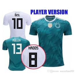 82f780076 2018 Player Version Germany Kroos World Cup 2019 Soccer jerseys 18 19  Germany Fans Model DRAXLER OZIL REUS GOTZE WERNER Football Shirts