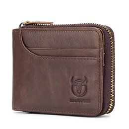 Wholesale Zip Around Wallet RFID Blocking Secure Leather Card Holder Wallet for Men X159