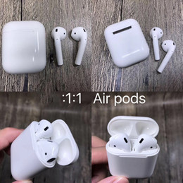 Nextel battery online shopping - FOR iphone X plus Apple Airpods Original Wireless Bluetooth In ear Earphone Deeper Bass Smart Earbuds Voice Connect Powerful Battery Case