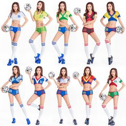 Stage & Dance Wear Chinese Folk Dance Sexy Lady Dance Bar Ds Costumes Cheerleading New Cheerleaders Stage Costumes