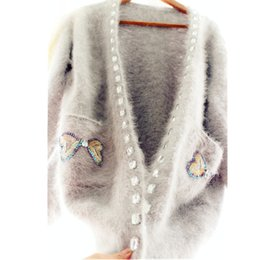 2bb2a5857ad Quality wool sweaters women online shopping - New arrival high quality  autumn and winter Gemstone Bow