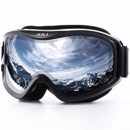 Ski Goggles,winter Snow Sports Snowboard Goggles With Anti-fog Uv Protection For Men Women Youth Snowmobile Skiing Skating Mask Shrink-Proof Sports & Entertainment