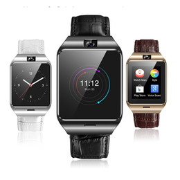 waterproof 3g smart phone watch Canada - QF09 3G IP67 Smart Watch Phone Waterproof GPS SIM TF Card WIFI Camera Sleep Monitor Pedometer G-sensor Microphone Smartwatch