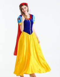 Queen Stage Costumes NZ - Wholesales hot types,Snow White Dress Adult, Holy Festival Costume, Court Fairy Princess Queen Dress, Dress Stage Dress