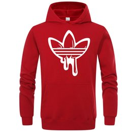 Prints color online shopping - Mens Branded Hoodie Light Fleece Sweatshirts Fashion Printed Hooded Pullovers Colors Street Style Mens Sportswear