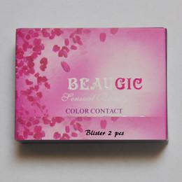 12 Farbe Waugisch Hidrocor 50 Paare / Los Farben Kontaktlinsen Fallfarben Kontaktlinsen Fall Kontaktlinsen Fall im Angebot