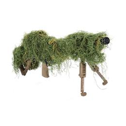 $enCountryForm.capitalKeyWord UK - Hunting Ghillie Suits Camouflage Strip Gun Rope Elastic Synthetic Fiber Camo Ghillie Suits Gun Hidden Strip Hunting Accessories