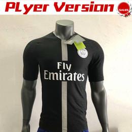 uniform army 2019 - Player Version New Logo PSG Soccer Jersey 2019 PSG Black Soccer Shirt 18 19 #10 NEYMAR JR #7 MBAPPE White Football Unifo