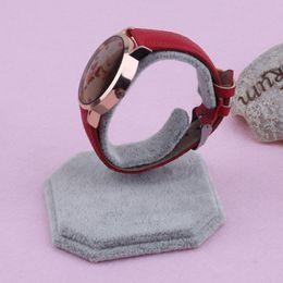 u holder 2019 - Bariho Brand Portable Black White Lint U Type Design Jewelry Bracelet Watch Display Rack Stand Holder Siut for Most Type