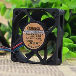 Pour ventilateur ultra-mince USB SUNON 6cm Lévitation magnétique 6010 5V 1.4W GM0506PFV2-A en Solde