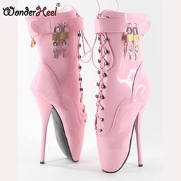 b381106000f Wonderheel On Sale Hot Extreme high heel 18cm 7