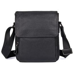 Mens Cross Body Bags NZ - Genuine Leather Mens Shoulder Bag Cowhide Vintage Travel Fashion Cross Body Messenger Bag