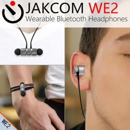 Wireless Headphones Cable Canada - JAKCOM WE2 Wearable Wireless Earphone Hot Sale in Headphones Earphones as wireless ear buds cable buddie mobile phone list