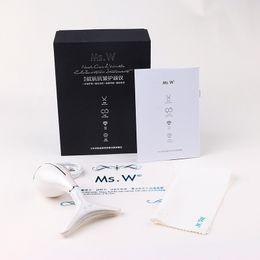 Großhandel LED Hals Schönheit Massagegerät Anti Falten Doppelkinn Entfernung Lymphdrainage Photon Therapie Vibration Massage Maschine