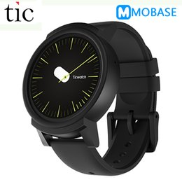 Original Ticwatch E GPS Sport Smart Watch Android Wear OS Pulsmesser MT2601 Bluetooth 4G ROM WIFI Musik IP67 Wasserdicht