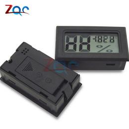 $enCountryForm.capitalKeyWord UK - Black Mini LCD Digital Thermometer Hygrometer Temperature Indoor Convenient Temperature Sensor Humidity Meter Gauge Instruments
