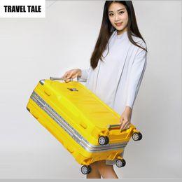 $enCountryForm.capitalKeyWord Canada - TRAVEL TALE ABS hardside spinner suitcase baggage 28 vintage lock luggage bag on wheels