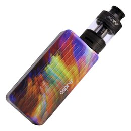 aspire kit NZ - New Cool Box Vape Kit from Aspire Puxos Kit allows for 18650 20700 21700mAh battery types suits Cleito Cleito EXO tanks