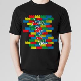 Опт Pink Floyd еще один кирпич в стене рок футболка, мужская женская всех размеров