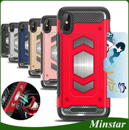Plastic holder cheaP online shopping - For Samsung J2 Prime Grand Prime G530 J7 Prime On5 On7 J710 J510 J310 J3 J5 New Magnetic Car Holder Case with Card Pocket Cheap Cover