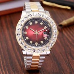 $enCountryForm.capitalKeyWord Australia - relogio masculino Luxury mens designer watches automatic New brand men diamond watch gold wristwatch day date leather Bracelet Clasp clock