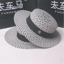 5 Fotos Compra Online Sombrero de paja negra-Mujeres de seda de ala ancha  Panamá Sombrero de 80d60de1a06