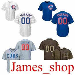 6b291dfdd 2016 World Series Champions patch mens custom co cubs Personalized Home  Road wholesale Customized Baseball jersey size S-3XL