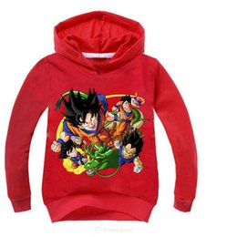 Autumn Baby Japanese Anime Dragon Ball Z Family Boys Children Sweater Hoodie