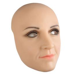 $enCountryForm.capitalKeyWord UK - High quality Silicone mask realistic female skin masque halloween cosplay Party mask crossdresser male to female