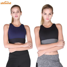 Wholesale Sexy Cross Strap Black Sports Bras Women s Gym Fitness Quick Dry Yoga Top Bra Girls Push Up Patchwork Workout Running Sports Bra