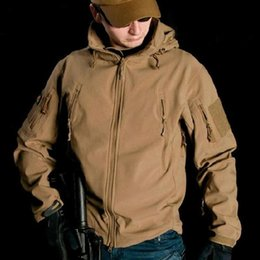 tad jacket color 2019 - Upgraded Lurker Shark skin Soft Shell TAD V 5.0 Military Tactical Jacket Waterproof Windproof Army bomber jacket Clothin