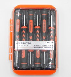 cell phone lcd screens wholesale 2019 - 6PCS Manual screwdriver repair pry kit Cell Phone Repairing Tools lcd screen separator laptop Disassemble tool kit
