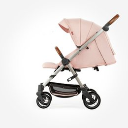 Infant Carriages Australia - Portable Baby Stroller Shockproof Easy To Fold Can Sit Can Lie Infant Stroller High View Pram Baby Carriage Travel For 0-3T BB