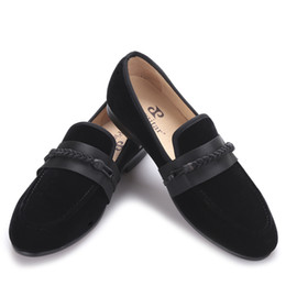 $enCountryForm.capitalKeyWord UK - 2017 new men velvet shoes with handmade weaving rope Party and wedding men dress shoes men slipper loafers male flats