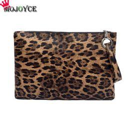 $enCountryForm.capitalKeyWord Canada - Women Leopard Print Day Clutch PU Leather Zipper Wallet Bag women envelope bag clutch evening female Handbag