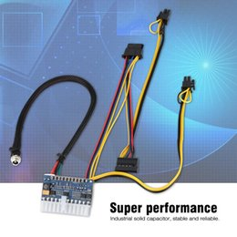 High Quality Power Cable Australia - 24Pin DC ATX  MINI  ITX PSU 12V DC Input 250W Output Switch Power Supply Module for PC 100% Tested High Quality