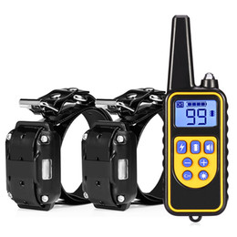 Static lcd diSplay online shopping - Supplies Dog Trainings m Waterproof Rechargeable Remote Control Dog Pet Electric Training Collar with LCD Display for All Size Dogs Ne