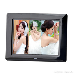 Fashion ultra-thin 8-inch high-definition digital photo frame LED electronic photo frame full format player advertising video player on Sale