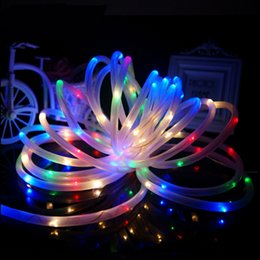 Solar led christmas rope lights australia new featured solar led high quality 7m 50 led solar rope tube led string strip fairy light outdoor garden xmas party decor waterproof aloadofball Image collections